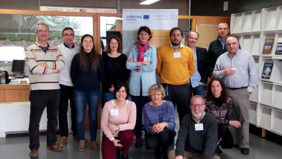 Pirepred deuxième réunion du projet à Toulouse