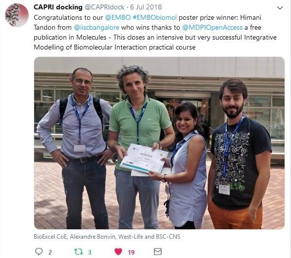 Los avances de Pirepred en congresos internacionales